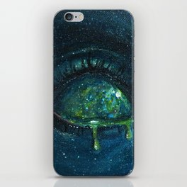 When the Universe Cries iPhone Skin