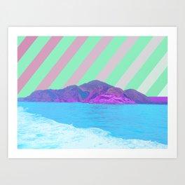 寂しい島 /// Lonely Island Art Print