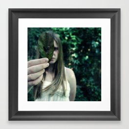 nature is not human hearted Framed Art Print