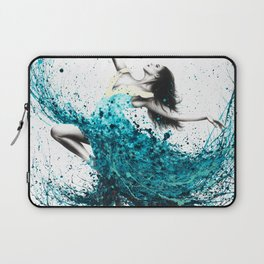 Teal Dancer Laptop Sleeve