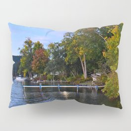 Autumn Arrives at the Lake Pillow Sham