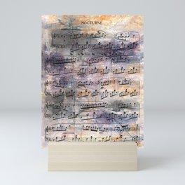 Chopin - Nocturne Mini Art Print