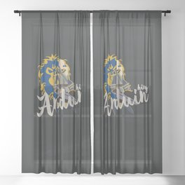PEOPLE of AZEROTH: Anduin Sheer Curtain