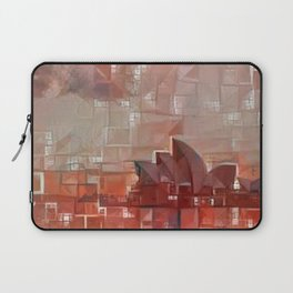 Sidney Opera Abstract Laptop Sleeve