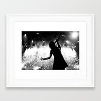hayley williams Framed Art Prints featuring Hayley Williams #2 by Ethan Luck