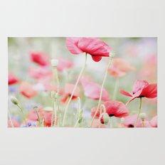 Poppy pastels Rug