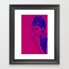 Pop glamour Framed Art Print