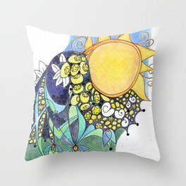 Portrait of a Lover Lost Throw Pillow