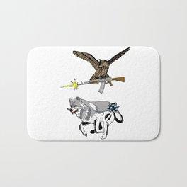 OWL WOLF ALLIANCE 3 Bath Mat