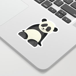 Whimsy Giant Panda Sticker