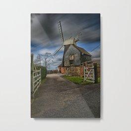 Charing Hill Mill Metal Print