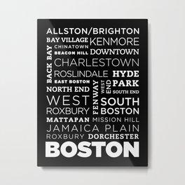 City of Neighborhoods - I Metal Print