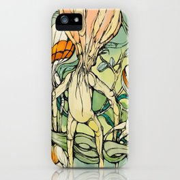 Lifted,Grounded. iPhone Case