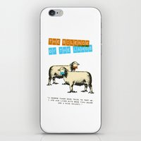 silence of the lambs iPhone & iPod Skins featuring The silence of the lambs by Marta Colomer