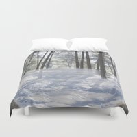heaven Duvet Covers featuring Heaven by Isabel Barranco