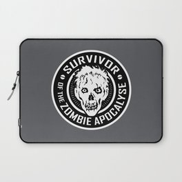 Survivor of the Zombie Apocalypse Laptop Sleeve