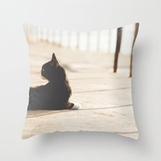 Gatunadas II Throw Pillow