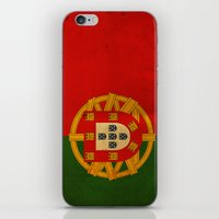 portugal iPhone & iPod Skins featuring Portugal by NicoWriter