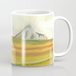 Oil Painting Mountains Coffee Mug