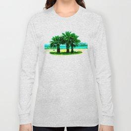 Tropical Tree Trio Long Sleeve T-shirt