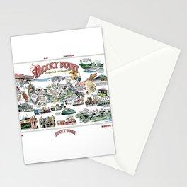 Rocky Point Amusement Park, Warwick, Rhode Island History Art Stationery Cards