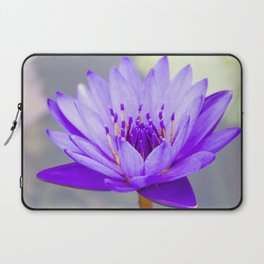 Blue Lotus In Bloom Laptop Sleeve
