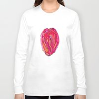 artsy Long Sleeve T-shirts featuring Artsy Heart by Ingrid Padilla
