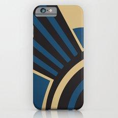 Art Deco Beautiful Life In Blue iPhone 6s Slim Case