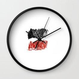 Flag of yemen 4 -yemen,اليَمَن ,Yemeni, Yemenite,Sabaeans,Aden, يمني Wall Clock