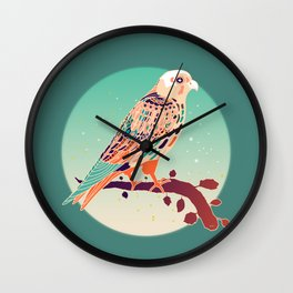 Lonely night Wall Clock