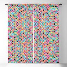 Colorfu mosaic Modern geometric pattern Blackout Curtain