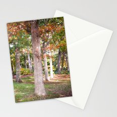 Trees at Wellesley  Stationery Cards