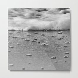 Soft wave Metal Print