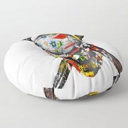 CanalFlowers Pirate Skull Floor Pillow