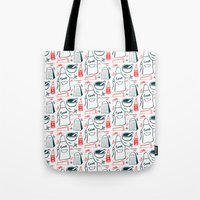 cook Tote Bags featuring Cook! by Bethany Thompson