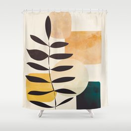 Abstract Elements 20 Shower Curtain