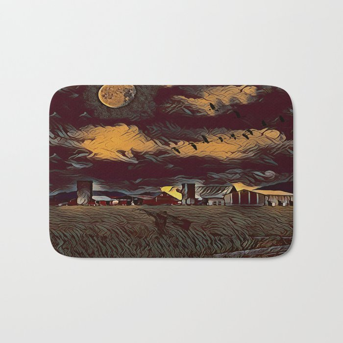 Harvest Moon Bath Mat