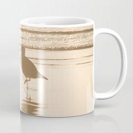 Meet Me at the Beach (typography) Coffee Mug