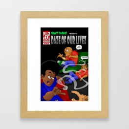 "Planet Smokas presents Daze of Our Livez - Cover ""What We Do"" Profile Page 9/10 Framed Art Print"