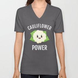 Cauliflower Power Unisex V-Neck