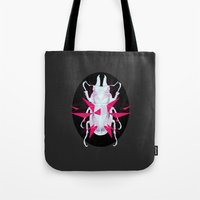 beetle Tote Bags featuring Beetle by Kajoi