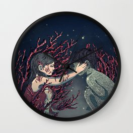 Bloody Valentine Wall Clock