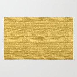 Lemon Drop Wood Grain Color Accent Rug