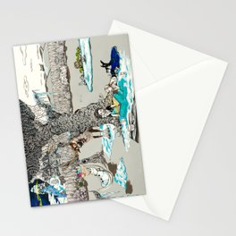 Books Coming to Life: Frozen Stationery Cards