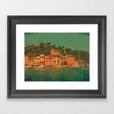 Portofino Framed Art Print