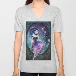 Ethereal keeper of worlds Unisex V-Neck