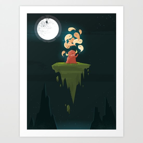 :::Thought Bender...::: Art Print