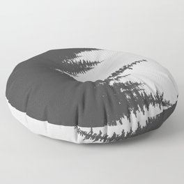 Sideways Forest Floor Pillow