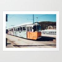 budapest Art Prints featuring Budapest by Johnny Frazer