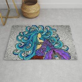 2017 Blue Mermaid Rug